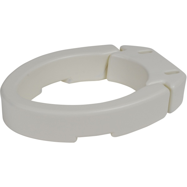 Hinged Toilet Seat Riser Elongated Seat Lightweight