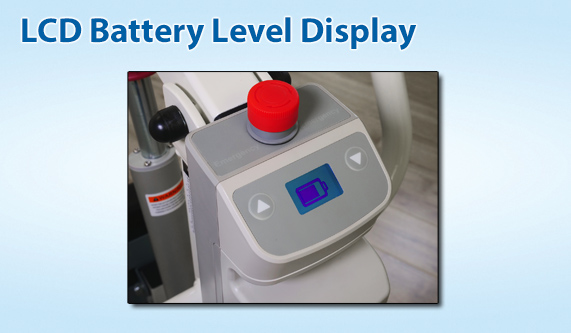 Span America F500S - LCD Battery Display