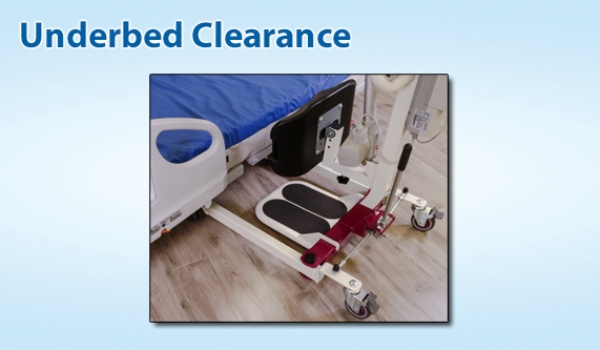 Span America F500S - Underbed Clearance