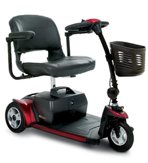 newest 564ea 2e0ee 3-Wheel Travel Scooter