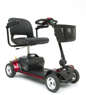 4-Wheel Travel Scooter